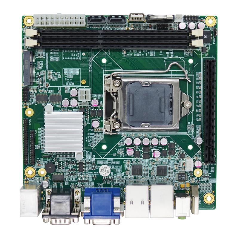 Mini-ITX工业主板PCBA生产加工_OEM代工代料_smt贴片